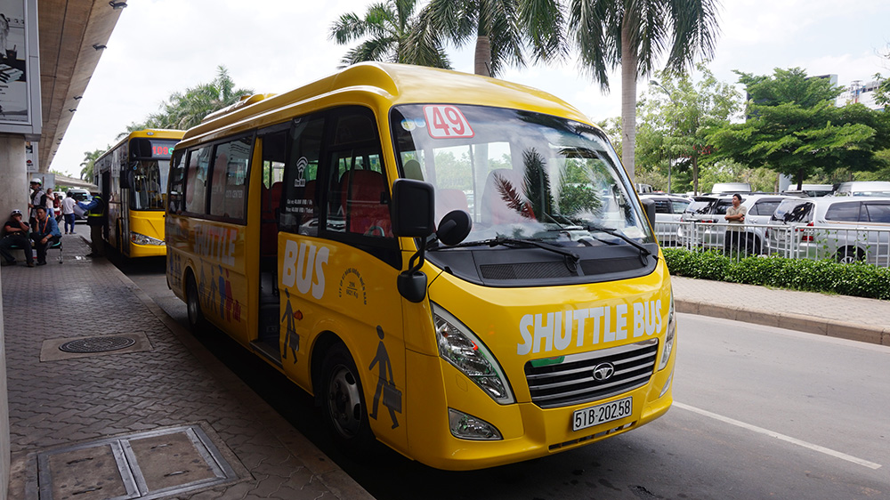 How to Take Shuttle Buses from Tan Son Nhat International