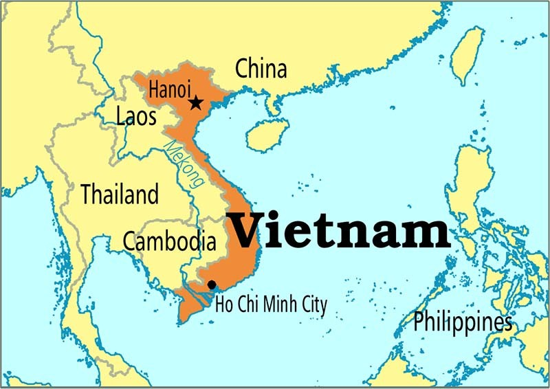 vietnam and china map Vietnam S Geography I Tour Vietnam Blogs vietnam and china map