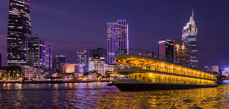 Enjoy The Night with A Dinner Cruise in Ho Chi Minh City | i Tour Vietnam  Blogs