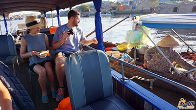 expat tours in vietnam mekong delta floating market