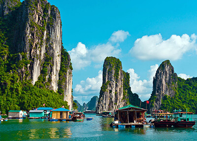 one month vietnam itinerary halong bay