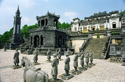 one month vietnam itinerary hue imperial tombs in hue