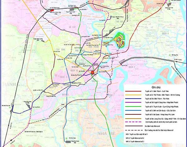 An Overview Of Ho Chi Minh City Metro Plan I Tour Vietnam Blogs