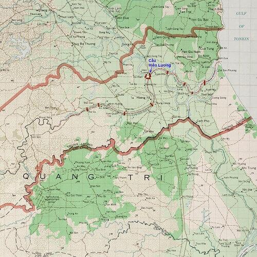 DMZ Vietnam Map | i Tour Vietnam Blogs