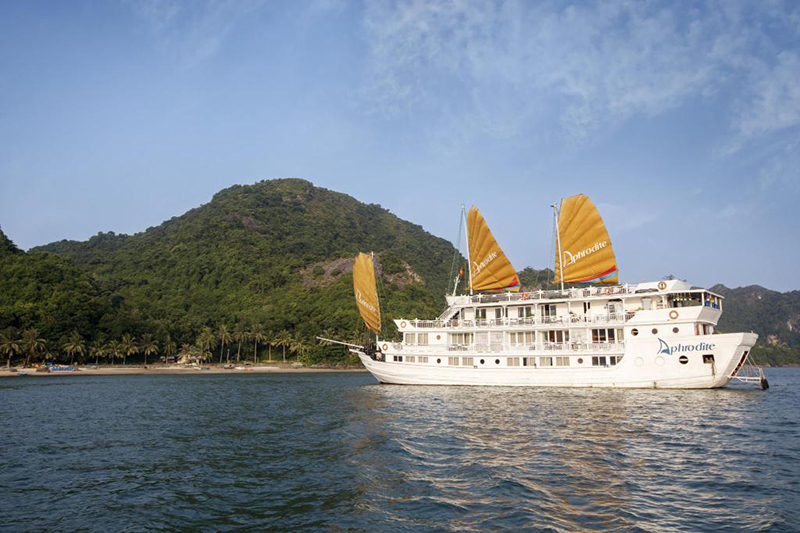 where to stay in halong aphrodite cruises halong
