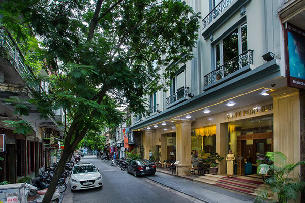 sustainable hotels in hanoi hanoi pearl hotel outside