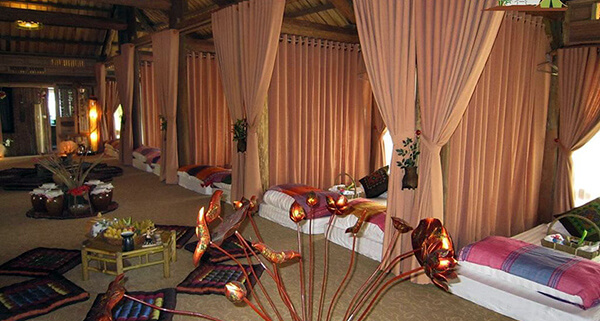 sustainable hotels in hanoi moon garden homestay traditional room