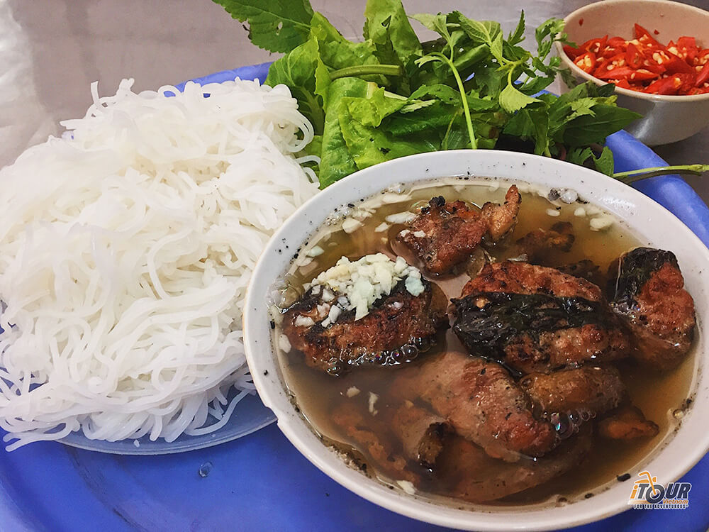 food tours northern vietnam bun cha