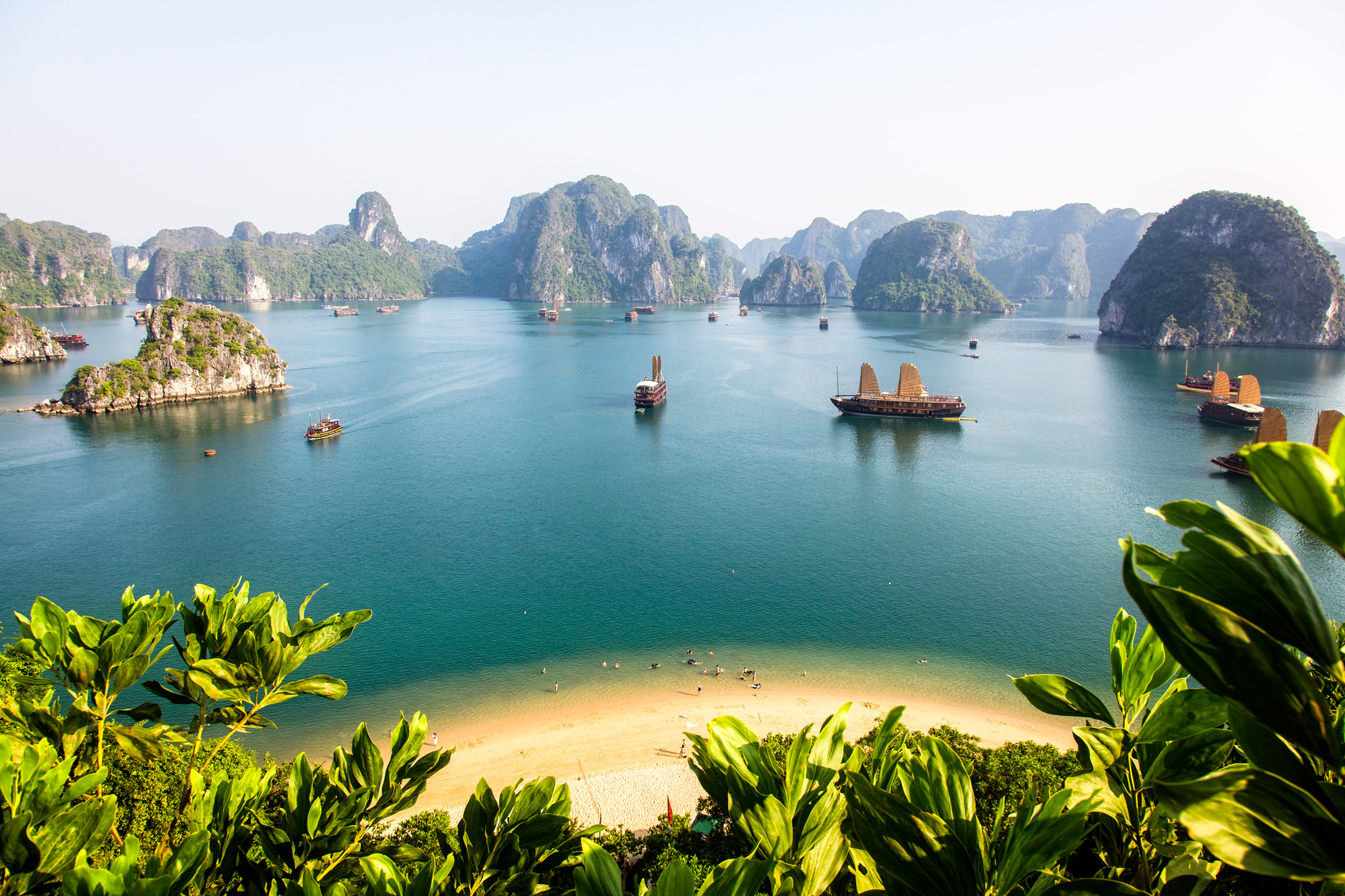 Halong Bay - TOP 5 Hanoi Shore Excursions