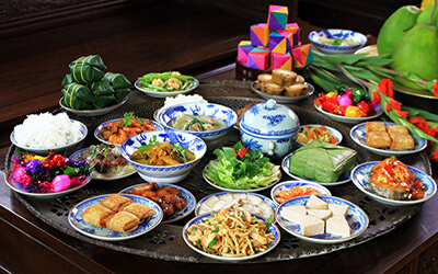 vietnamese tet traditional food