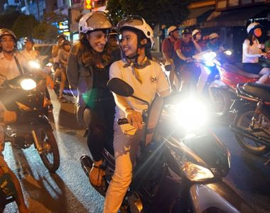 Saigon night tour