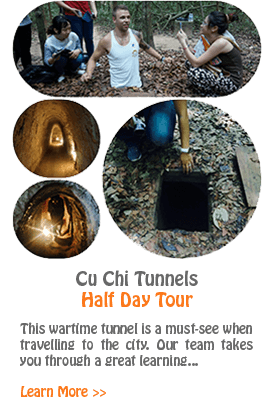 Cu Chi Tunnels - Half Day Tour